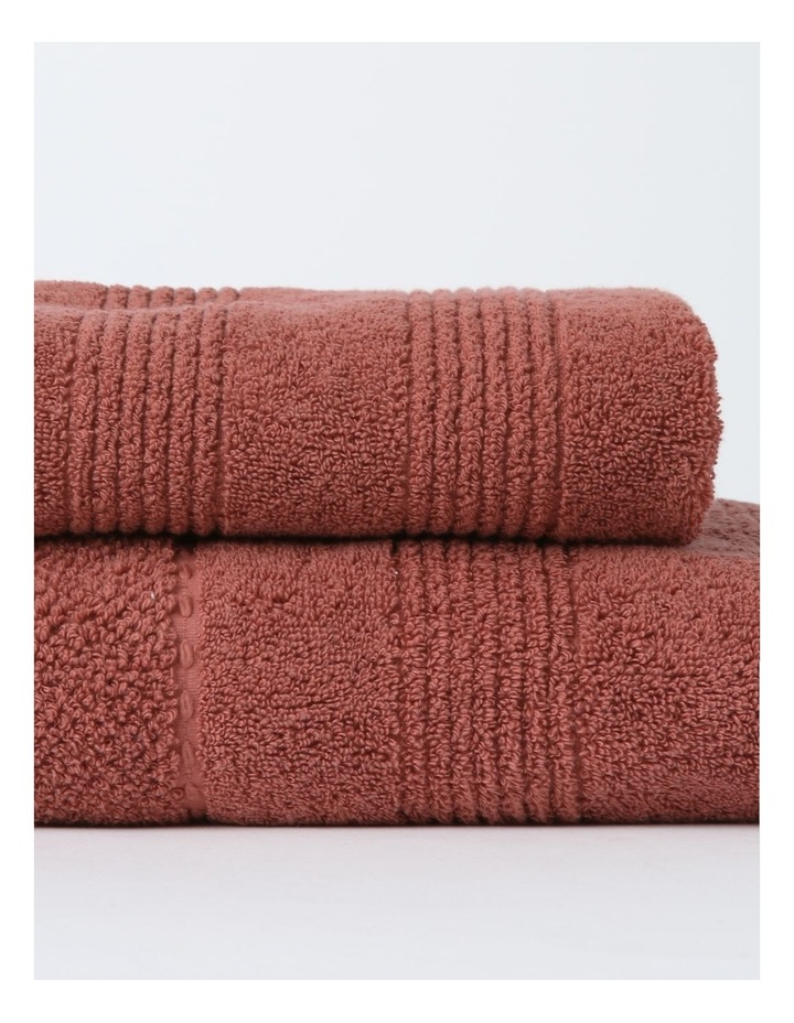Lillie Bath Towel Range in Withered Rose image 2