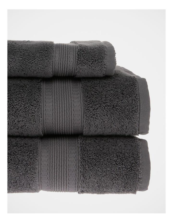 Luxury Turkish Cotton Towel Range in Charcoal image 3