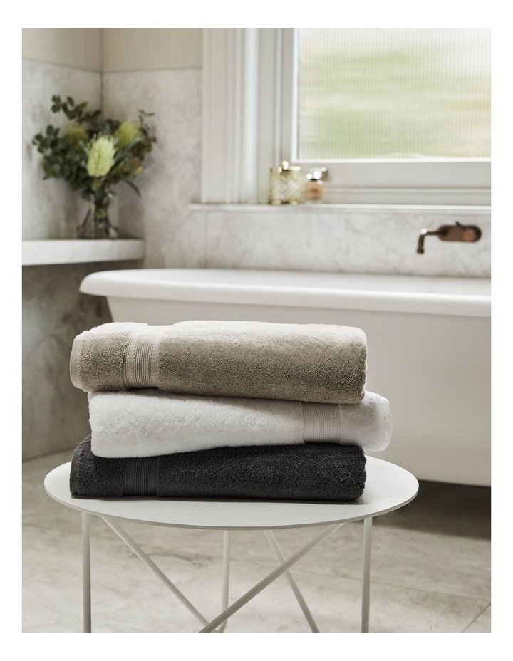 Luxury Turkish Cotton Towel Range in Natural image 2