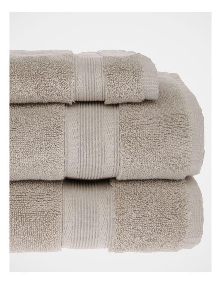 Luxury Turkish Cotton Towel Range in Natural image 3