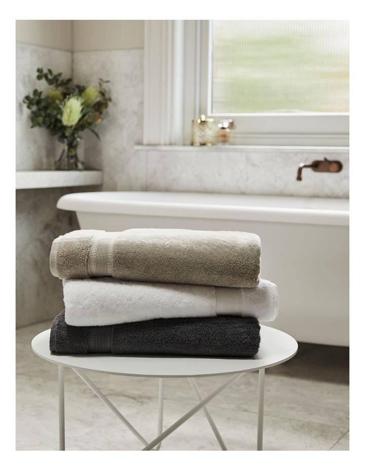 Luxury Turkish Cotton Towel Range in White image 2