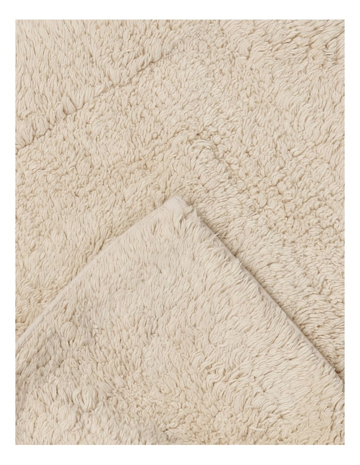 Canterbury Bath Mat in Oatmeal image 2