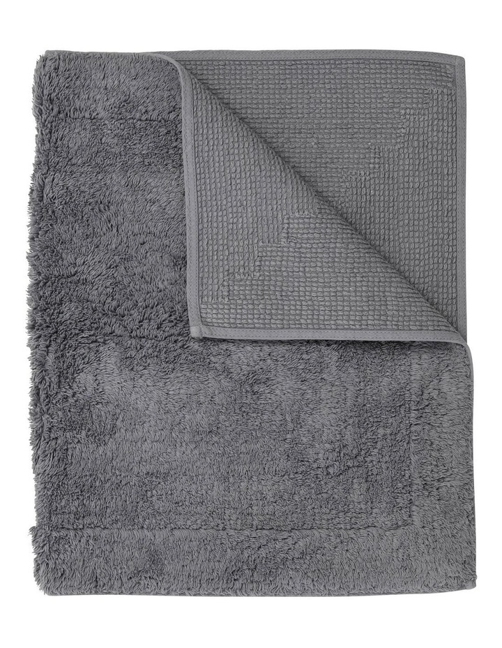 Canterbury Bath Mat in Grey image 1