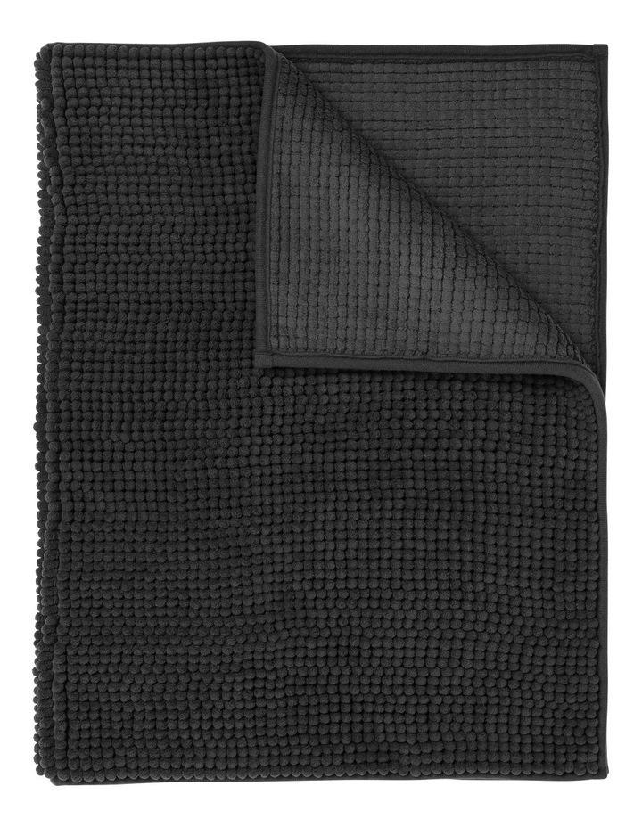 Hampton Super Soft Microfibre Range Bath Mat in Charcoal image 1