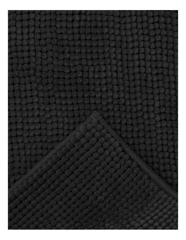 Hampton Super Soft Microfibre Range Bath Mat in Charcoal image 2