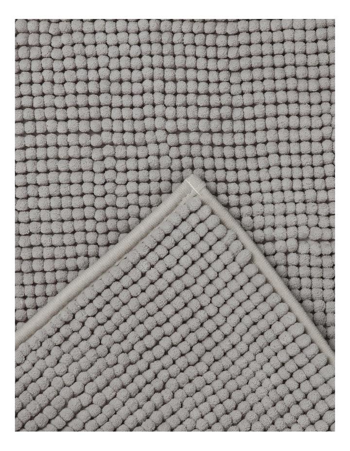 Hampton Bath Mat in Silver image 2