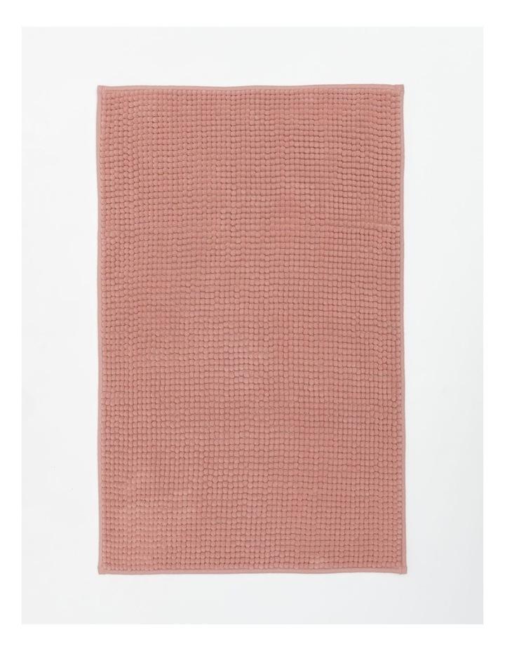 Hampton Super Soft Microfibre Bath Mat in Pink Clay image 1