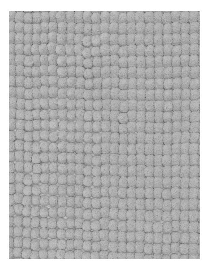 Hampton Super Soft Microfibre Contour Mat in Silver image 2