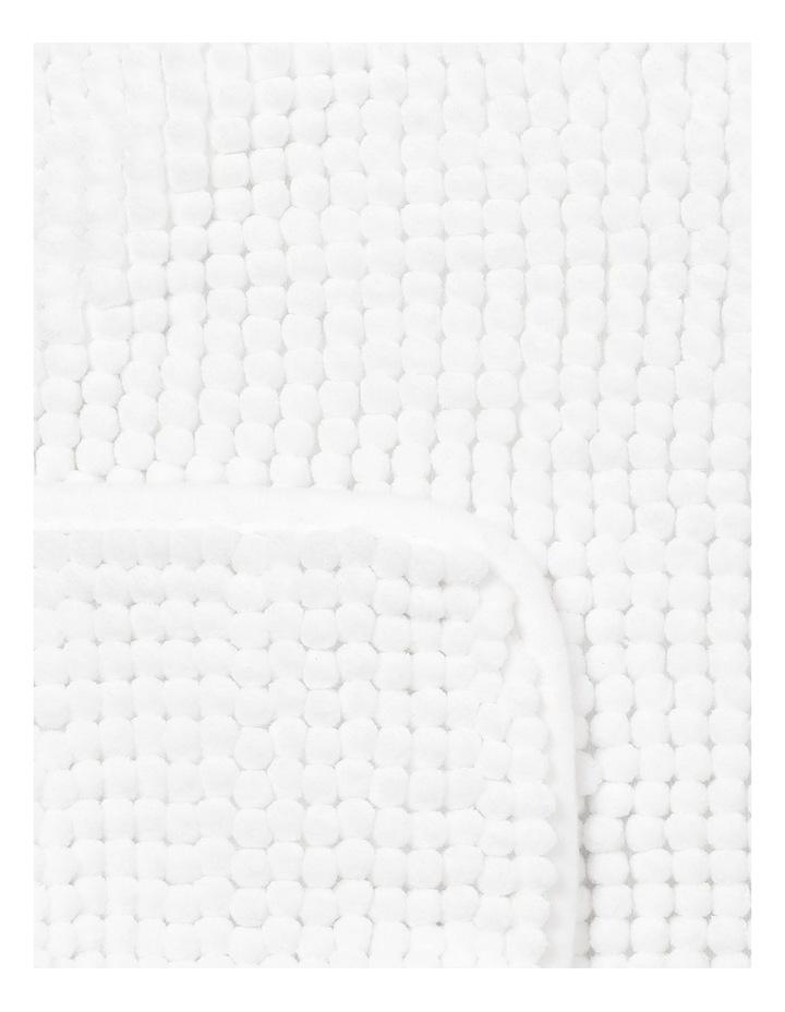 Hampton Contour Mat in White image 2