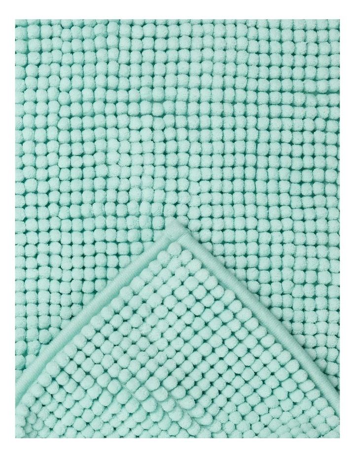 Hampton Super Soft Microfibre Range Bath Mat in Light Blue image 2