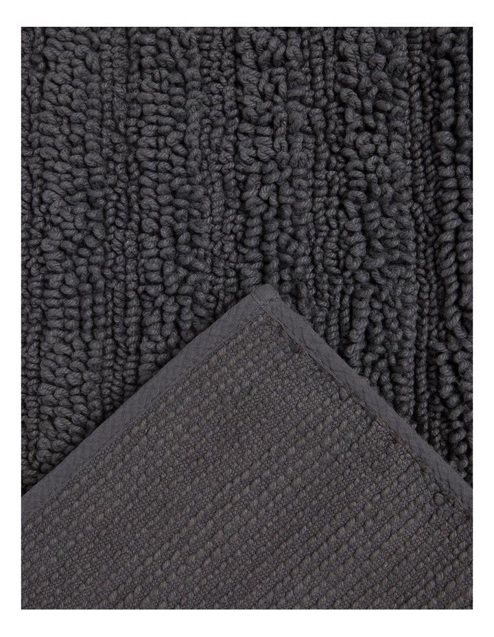 Kudu Oversized Bath Mat in Charcoal image 2
