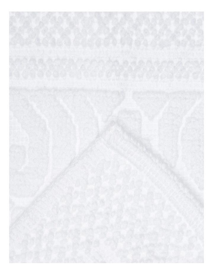 Adeline Floral Tile Cotton Jacquard Bath Mat image 2