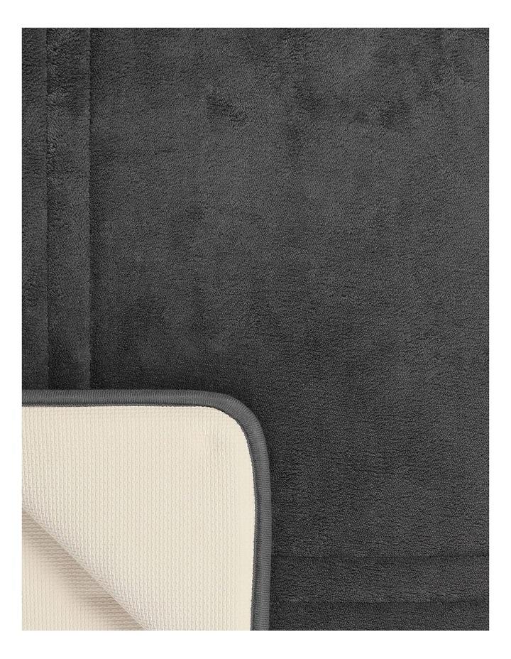 Madeline Memory Foam Bath Mat in Steel Grey image 2