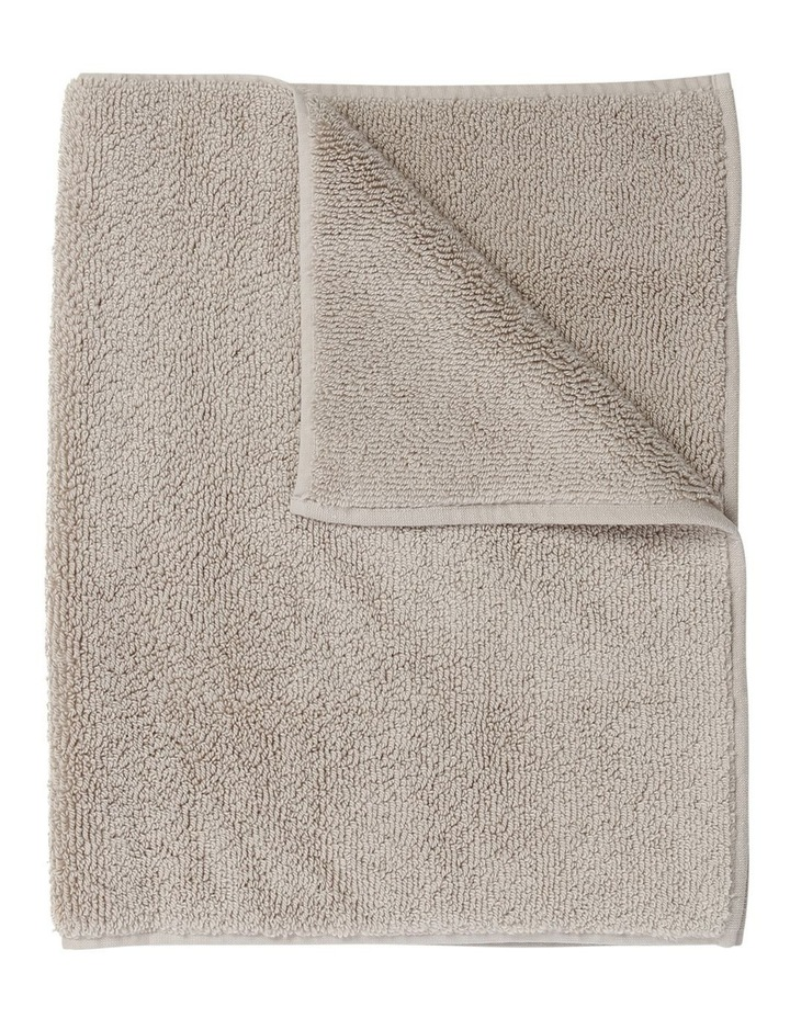 Manarola Turkish Cotton Bath Mat in Natural image 1