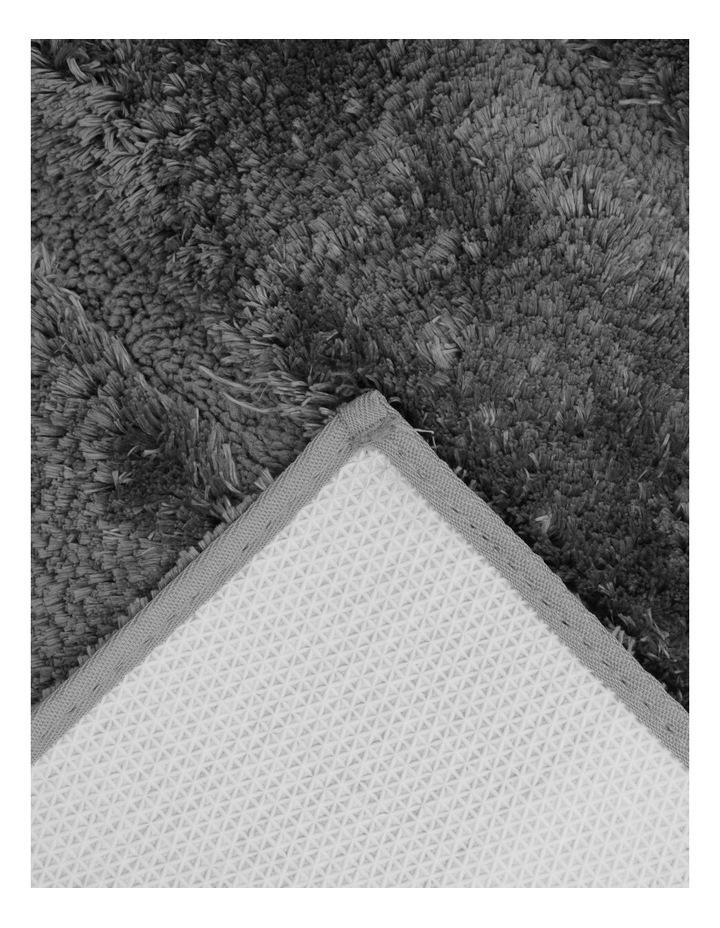Disegno Tufted Bath Mat: Charcoal image 2