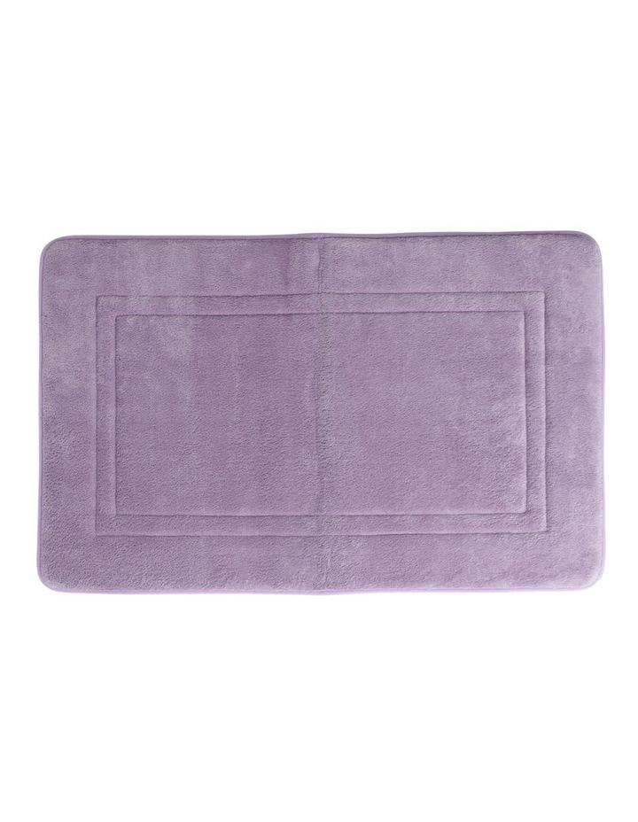 Madeline Memory Foam Bath Mat In Lavender image 1