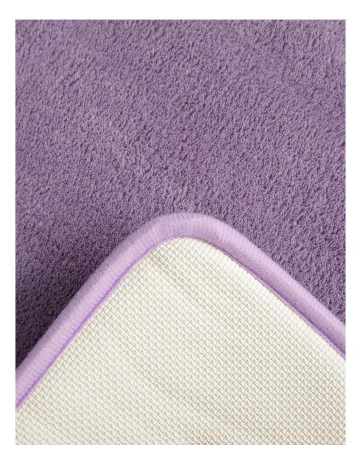 Madeline Memory Foam Bath Mat In Lavender image 2