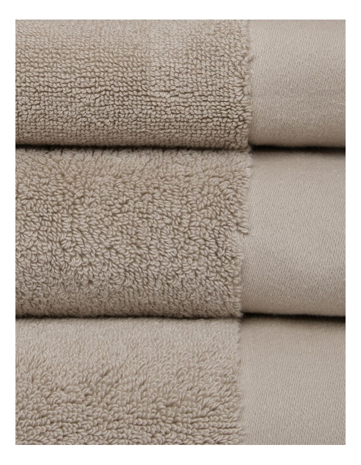 Australian Cotton Towel Range in Stone image 2