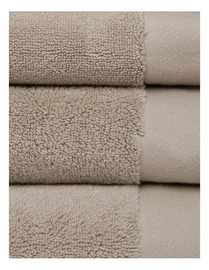 Australian Cotton Towel Range in Stone image 3