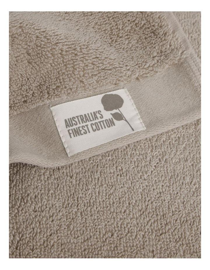 Australian Cotton Towel Range in Stone image 4