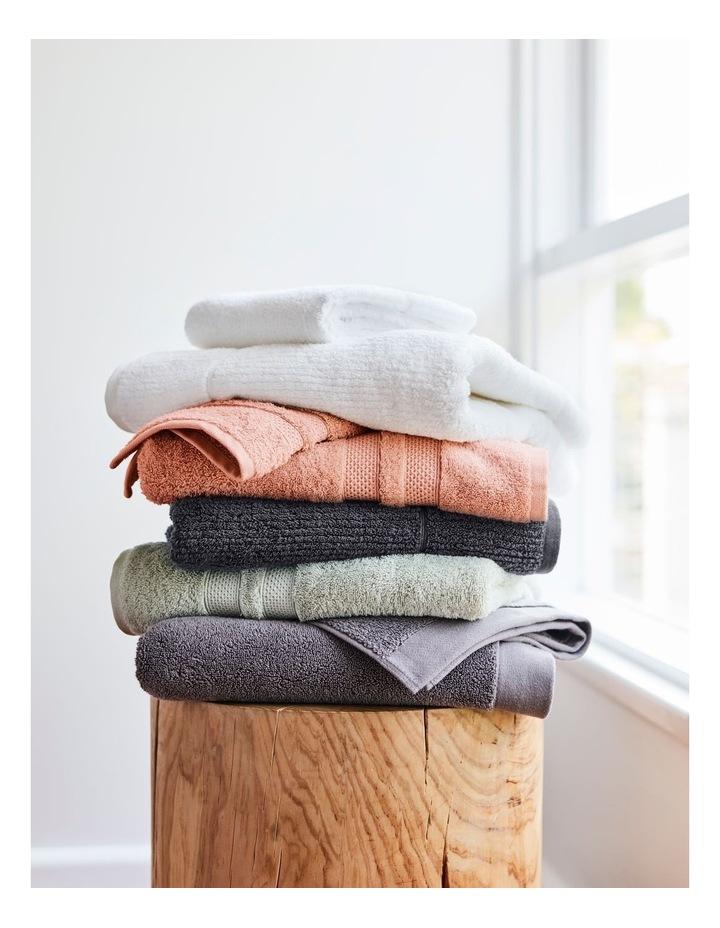 Australian Cotton Towel Range in Charcoal image 2