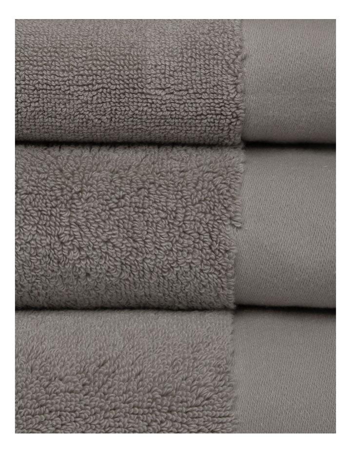 Australian Cotton Towel Range in Charcoal image 3