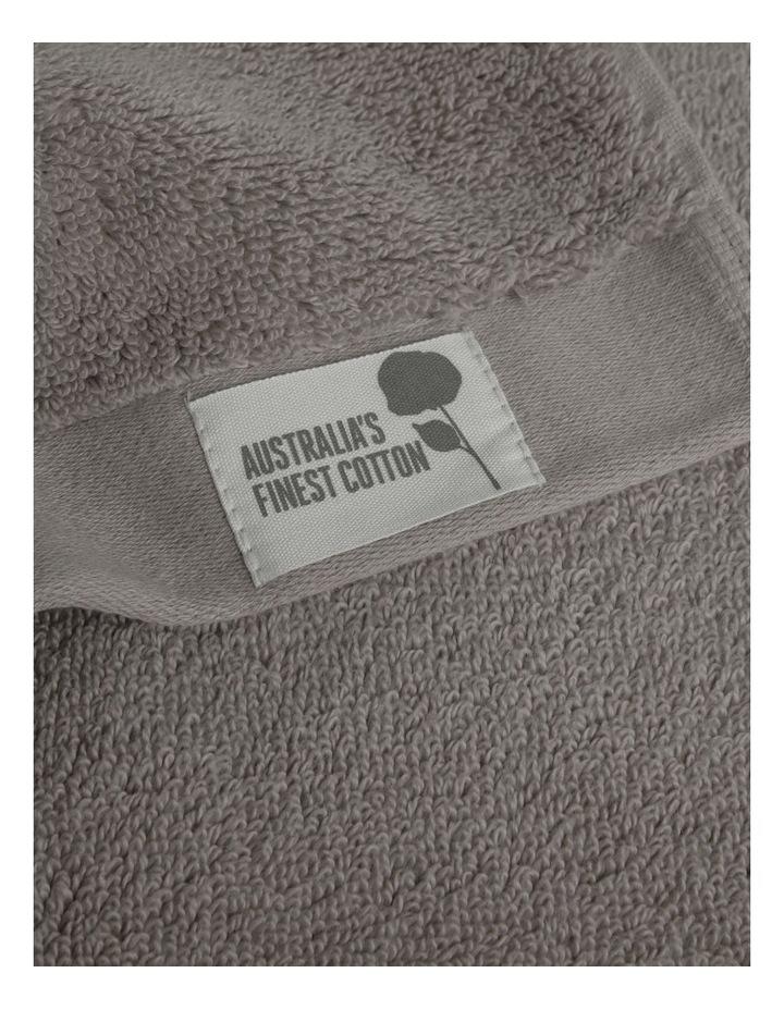 Australian Cotton Towel Range in Charcoal image 4
