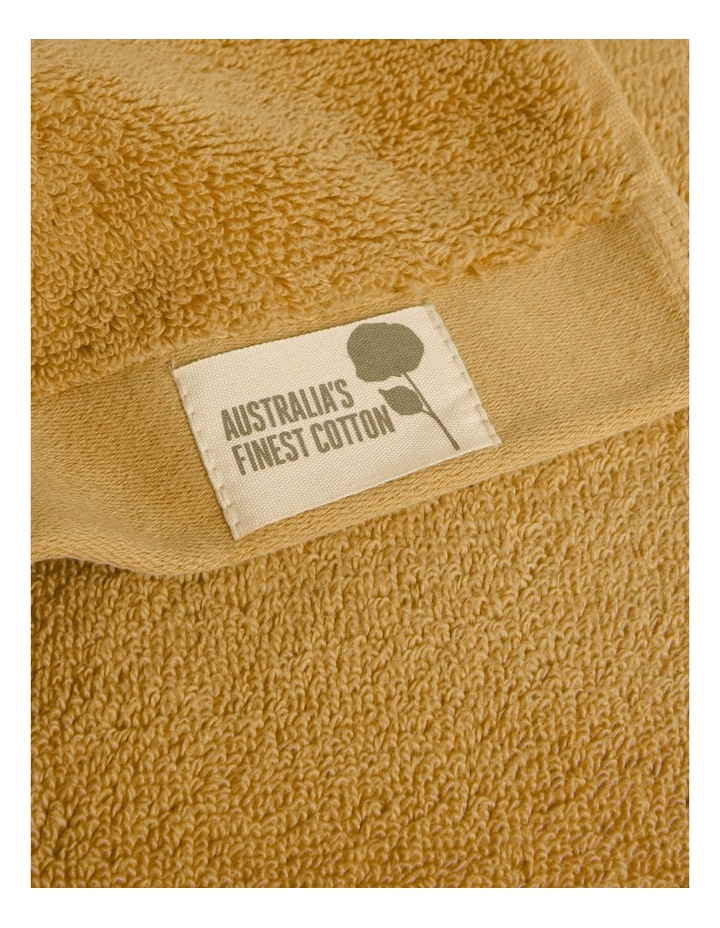 Australian Cotton Towel Range in Sand image 3