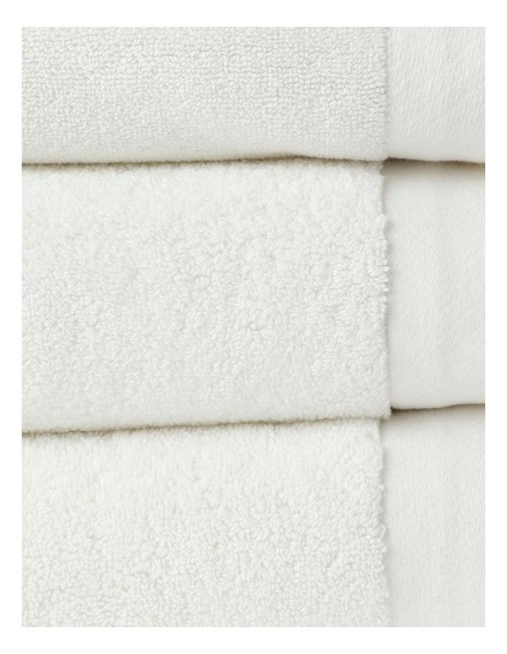 Australian Cotton Towel Range in White image 2