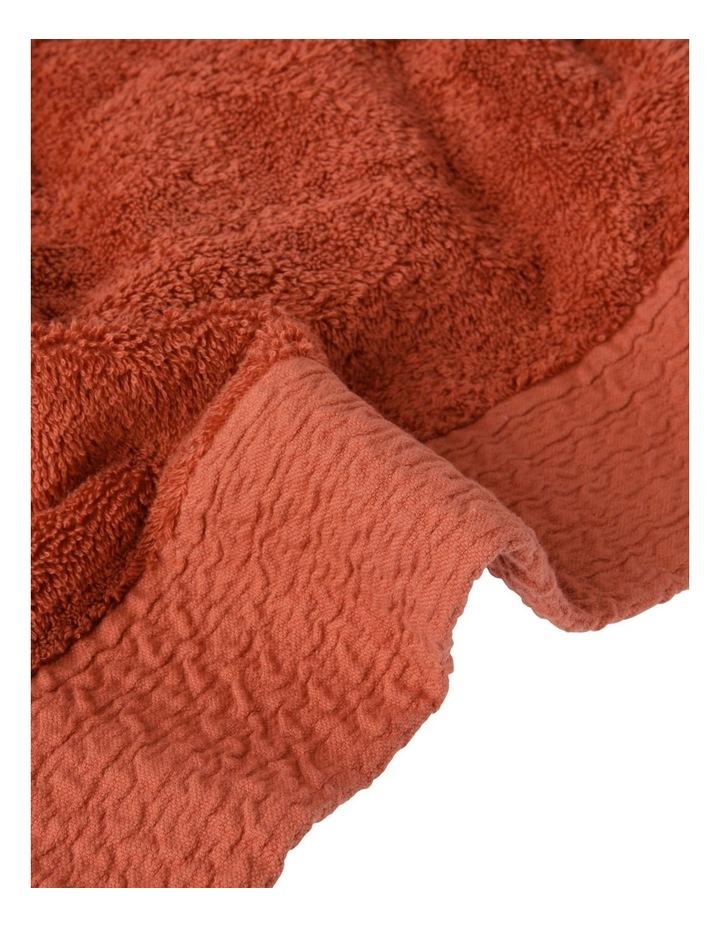 Organic Towel Range in Brick image 3