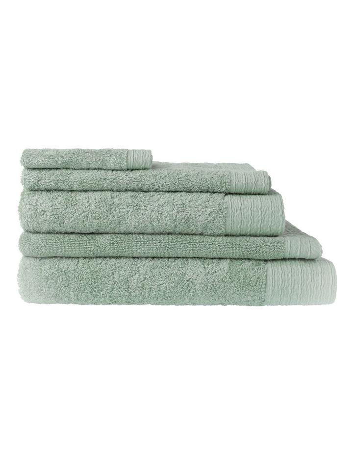 Organic Towel Range in Sage image 1