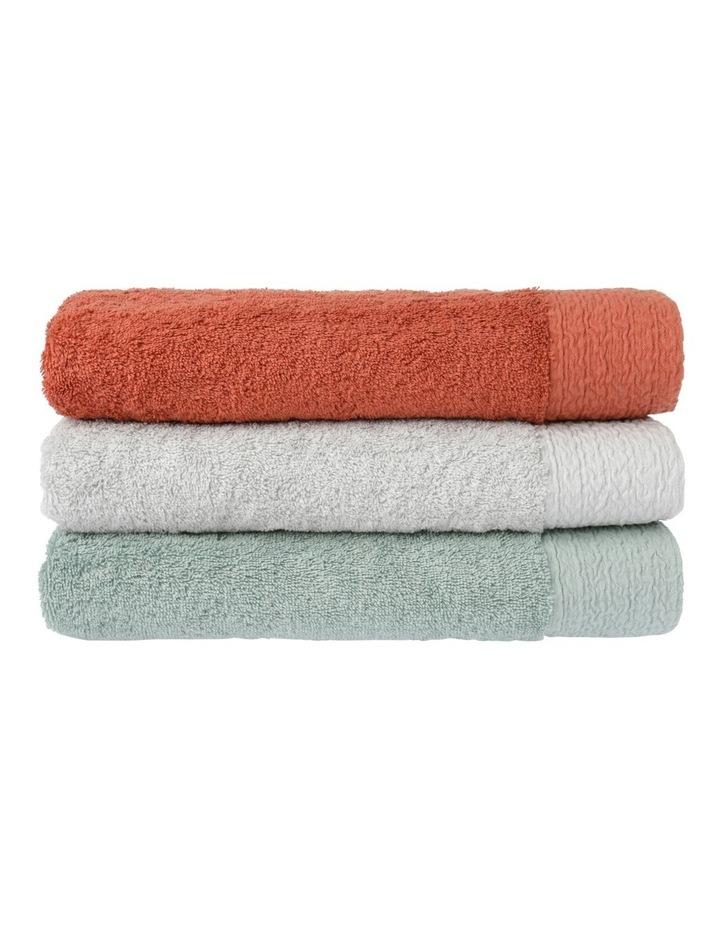 Organic Towel Range in Sage image 2