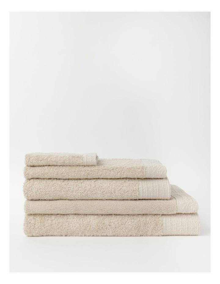 Organic Towel Range in Natural image 1