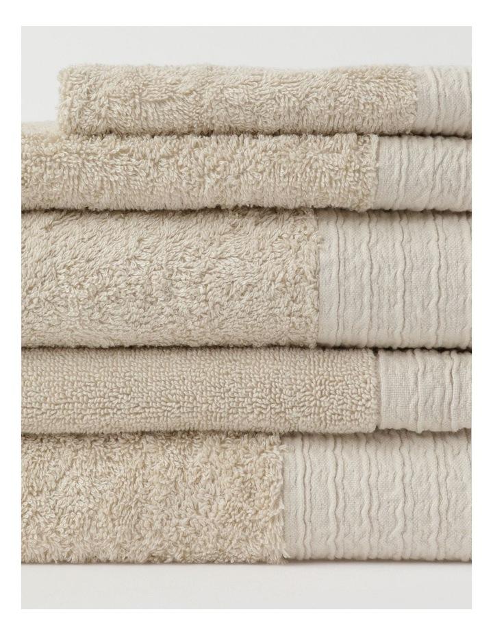 Organic Towel Range in Natural image 2