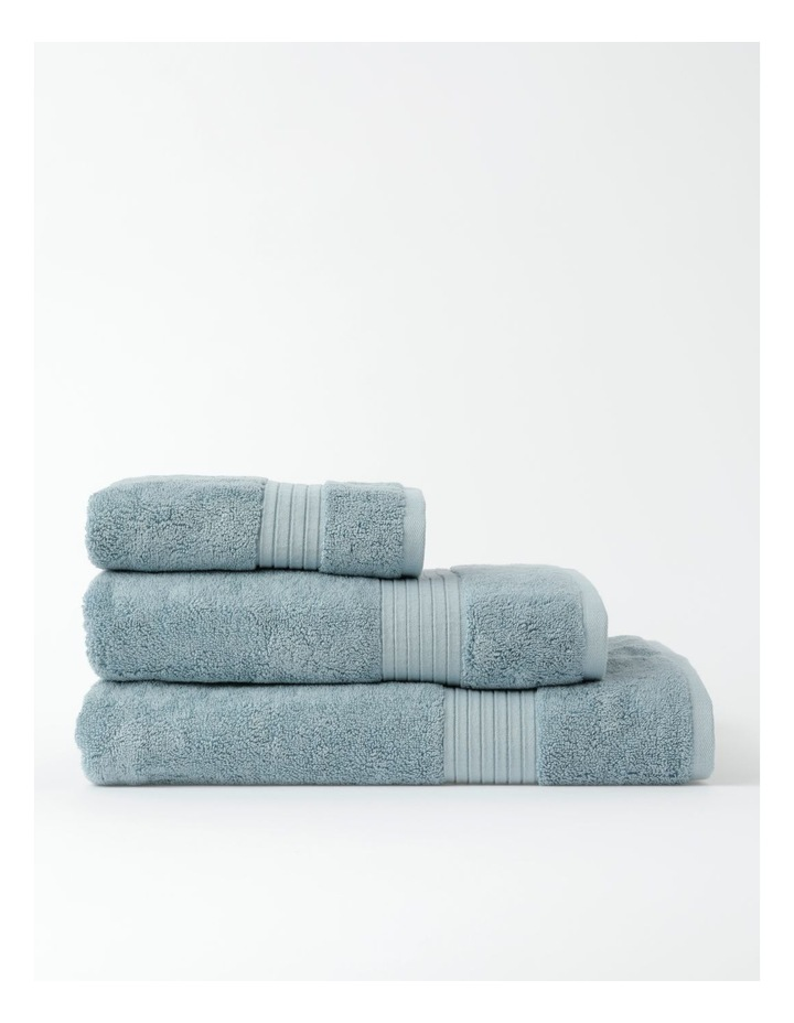 Australian Tencel Cotton Bath Towel Range In Sea Mist image 1