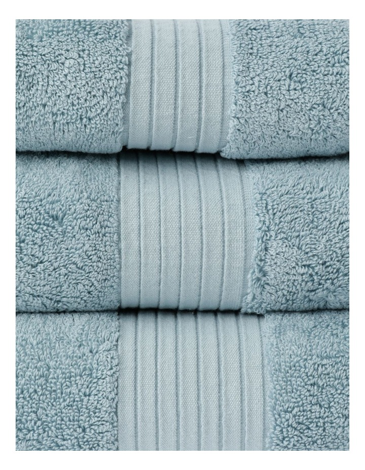 Australian Tencel Cotton Bath Towel Range In Sea Mist image 2