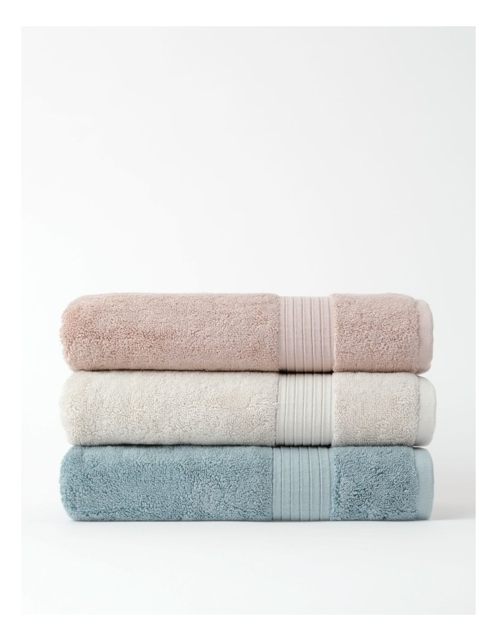 Australian Tencel Cotton Bath Towel Range In Sea Mist image 4