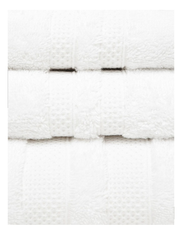 Egyptian Cotton Towel Gift Set in Winter White image 2