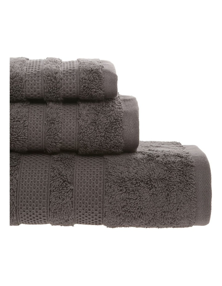 Egyptian Cotton Towel Gift Set in Dark Coal image 3