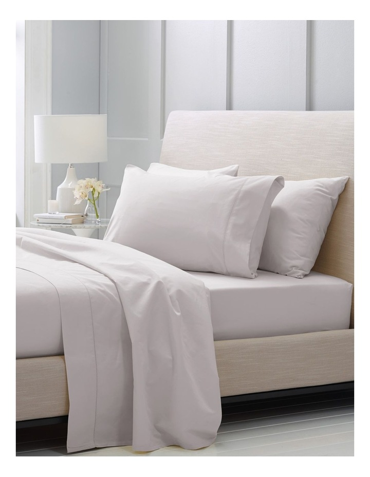 Hotel-Weight Luxury 1000TC King Pillowcase Pair in Dove image 2