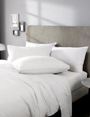 Sheridan - Nashe Stonewashed Sheet Range in White