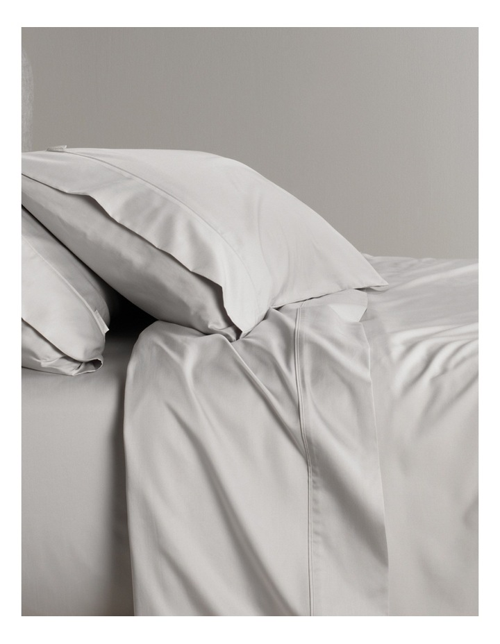 Tencel Lyocell Fibre & Cotton Sheet Set in Dove image 2