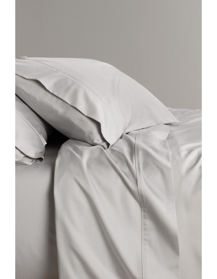 Tencel Lyocell Fibre & Cotton Sheet Set in Dove image 1