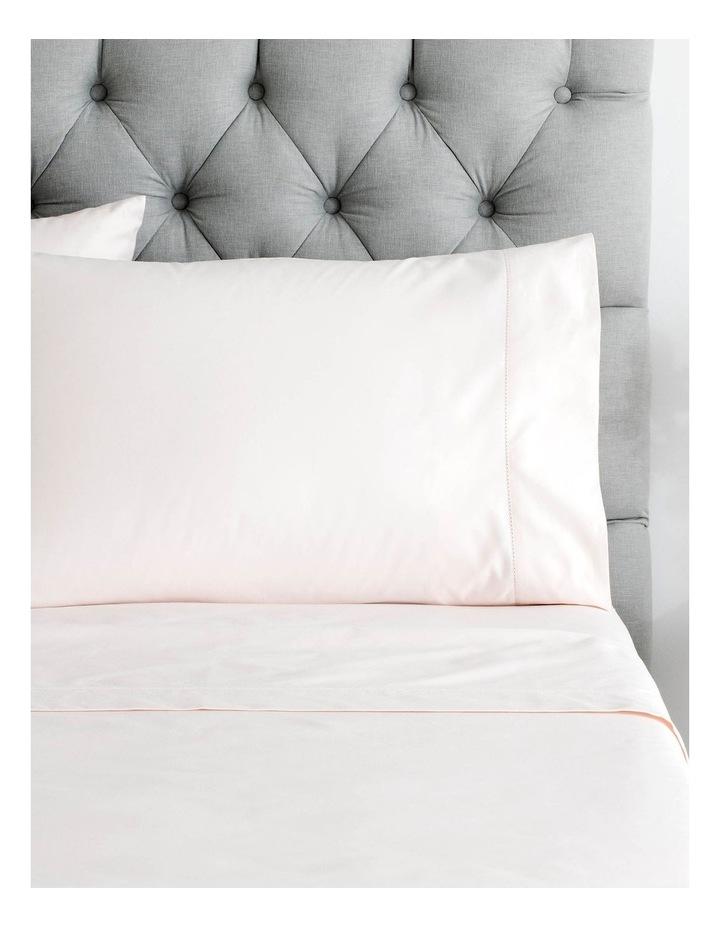 Hotel-Weight Luxury 1000TC Sheet Set in Tea Rose image 1