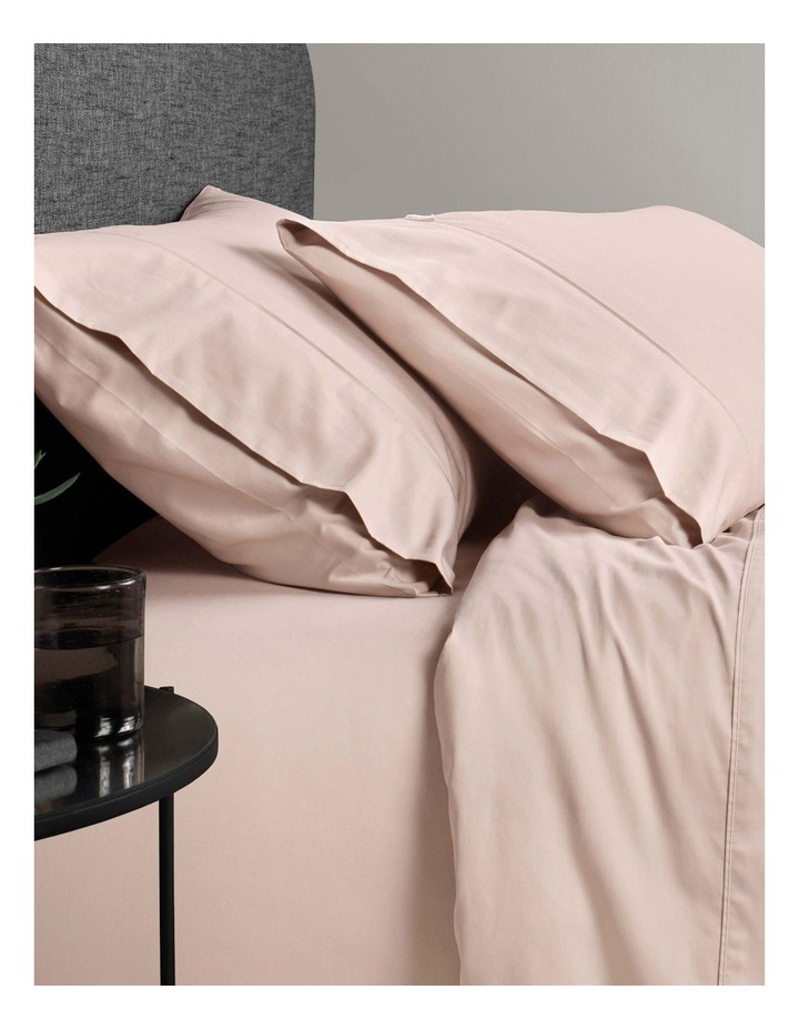 Soft Sateen 400TC Pillowcase Pair in Angel image 1