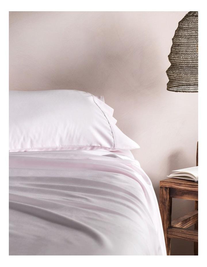 Tencel Lyocell Fibre & Cotton Sheet Set in Shell image 1