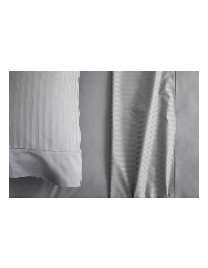 Millennia 1200TC Fitted Sheet in Storm image 2