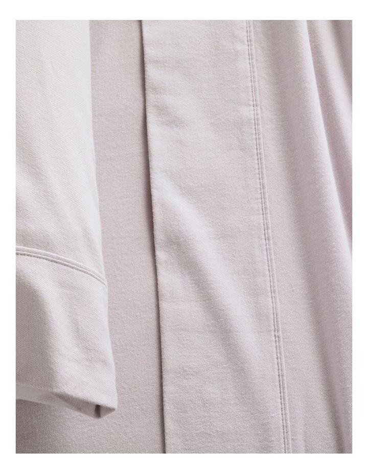 Plain Dye Flannelette Sheet Set in Orchid image 6