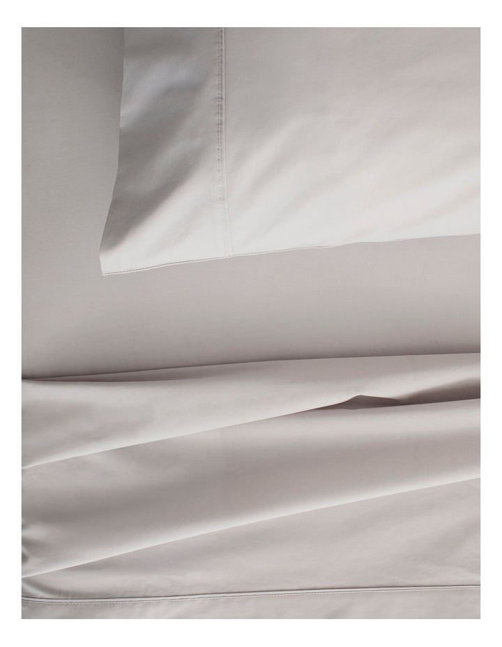300TC Organic Percale Sheet Set in Dove image 2