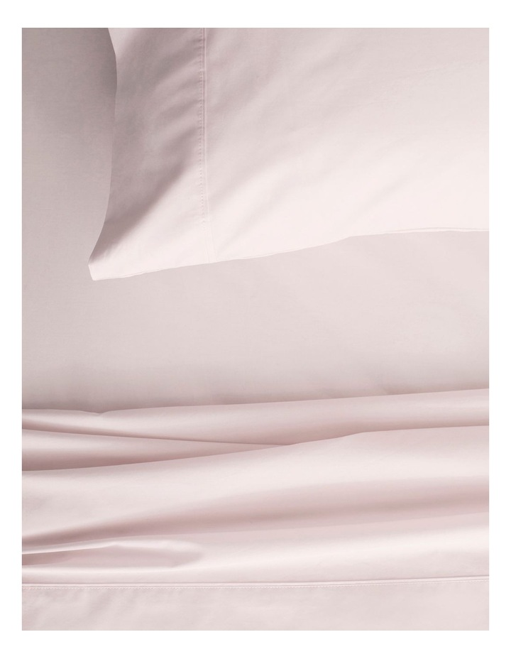 Organic Cotton Percale 300TC Sheet Set in Shell image 2
